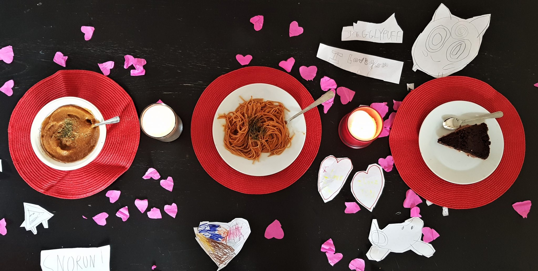 Valentine's Day Three-Course Meal for a tenner