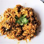 Sweet Potato and Coriander Pesto Pasta